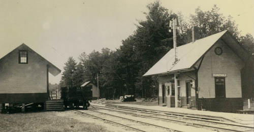 Boston and Maine Railroad Acton Branch