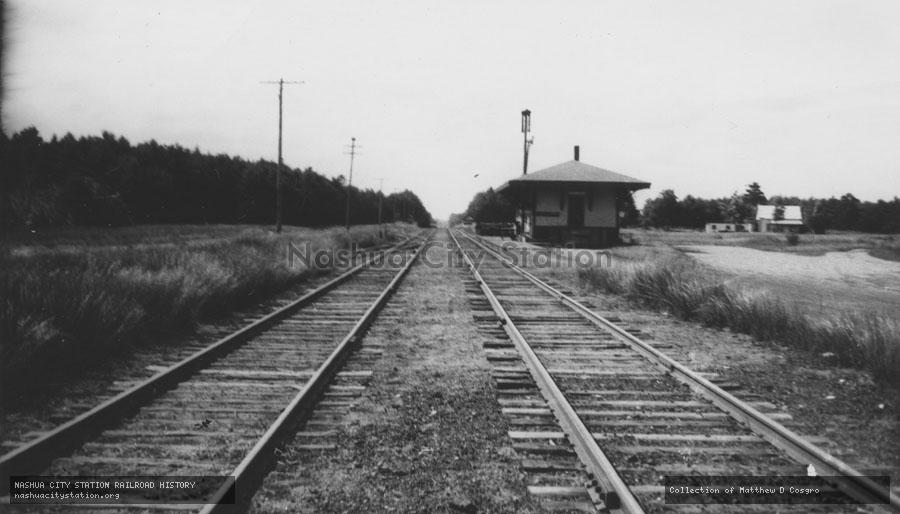 Photographic Print: Railroad Station, Barrington, New Hampshire